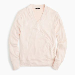 NWT J.CREW Blush Pink Supersoft Sweater